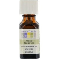 Aura Cacia Ylang Ylang III Essential Oil 15 ml (並行輸入品)