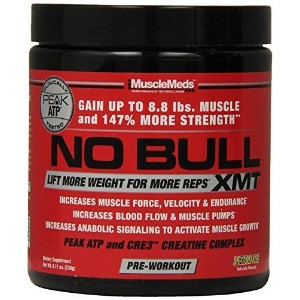 MuscleMeds No Bull XMT Pre Workout Powders, Lemon Ice, 8.11 Ounce by MuscleMeds [並行輸入品]