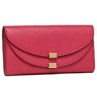 Chloe(クロエ)クロエ 財布 CHLOE 3P0284 043 BHZ GEORGIA LONG WALLET WITH FLAP 長財布 DREAMY PINK [並行輸入品]