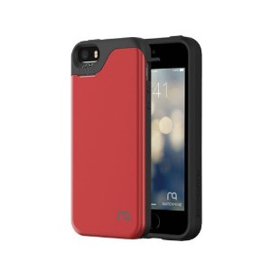 Match nine MATCH4 CARD CAPSULE S for iPhone SE Metalic Red メタリックレッド MCIPS104