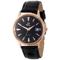 ORIENT オリエント BAMBINO AUTOMATIC FER24001B0 BLACK DIAL BLACK LEATHER BAND MEN'S WATCH 男性用 メンズ 腕時計 ...