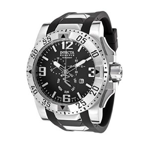 インヴィクタ インビクタ 腕時計 Invicta Men's 18202 Excursion Stainless Steel Watch With Black PU Band [並行輸入品]