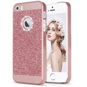 Imikoko iPhoneSE iPhone5s iPhone5 ケース アイホン5 5s SE case きらきらケース