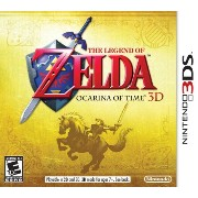 The Legend of Zelda: Ocarina of Time 3D nintendo 3ds (import)