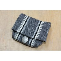 """CENTINELA TRADITIONAL ARTS"" FLAP PURSE (HEATHER GRAY) B"