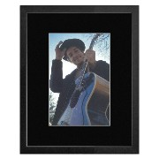 Bob Dylan - Smiling 1968 Framed and Mounted Print - 33x28cm