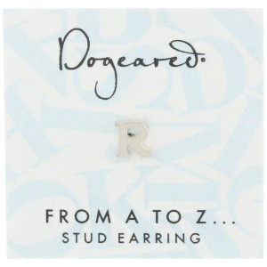 [ドギャード] DOGEARED from a to z earring, SS, little R V3SSZ00211704