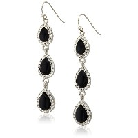 [サマンサウィルス] samantha wills FOREVER LOVE DROP EARRINGS 1503211536-BLK