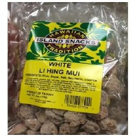 Hawaiian Tradition Island Snacks White Li Hing MUI 4oz(113g)
