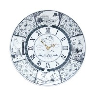 moomin × amabro SOMETSUKE CLOCK TIME GOES ON アマブロ ソメツケ クロック [ ブラック ]