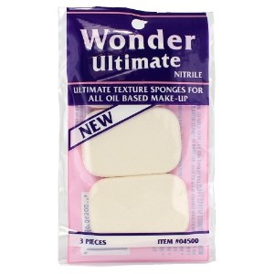 Wonder Ultimate Texture Sponges For All Oil Based Make-Up - 3 Pieces (並行輸入品)