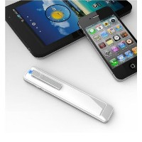 Tanzency Bluetooth ワイヤレスハンドセット Blue-Fin(ブルーフィン/カラー:白) iPhone4/iPhone5s/iphone5c/iPad/Galaxy/Xperia...
