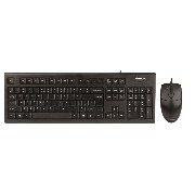 A4TECH Wired Combo Mouse and Keyboard - KR(S)-8520D