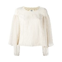 Mm6 Maison Margiela - Ollie ブラウス - women - キュプロ - 44