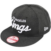 NEWERA KINGS SCRIPT 9FIFTY SNAPBACK CAP LOS ANGELES (NHL) BLACK/WHITE 11308478 ニューエラ キングス スクリプト...