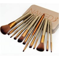 NAKED3 URBAN DECAY POWER BRUSH メイクアップブラシ 12本セット ケース付