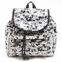 (レスポートサック)LeSportsac 9808-P928 SMALL EDIE BACKPACK/リュック/MICKEY LOVES MINNIE[並行輸入品]