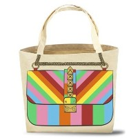 My Other Bag トートバッグ ROXY RAINBOW BAG made in USA
