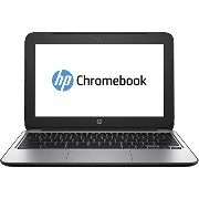 "HP Chromebook 11 G3 11.6"" LED Chrome OS Black-Silver, Intel Celeron N2840 2.16GHZ, 2GB, 16GB SSD..."