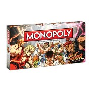 Street Fighter Monopoly Board Game: Street Fighter Monopoly
