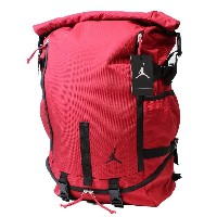NIKE JORDAN (ナイキ・ジョーダン) 【メンズ】 バックパック ロールトップ リュックサック デイ バッグ JUMPMAN ROLL TOP LOADER BACKPACK (RED...