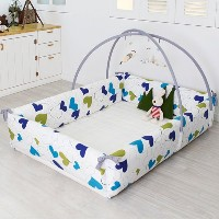 Maming Baby Bumper Bed 赤ちゃんのバンパーベッド 様々な活用性 [並行輸入品] (Lovely Heart )