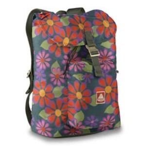 jansport(ジャンスポーツ) OFF TRAIL Green/MultiFlowerPower