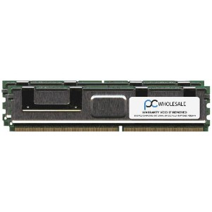 HP 16GB [2x 8GB] PC2-5300 DDR2-667 2Rx4 ECC Fully Buffered FBDIMM Memory Kit (HP PN# 413015-B21) by...