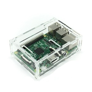 【Cat fight】 Raspberry Pi B+ ラズベリー パイ MODEL B PLUS クリア ケース