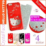 [HELLO KITTY Crystal Face Case 正規品 ] ip6/6s ip6 ip6S ip6plus ip6splus ケース キティちゃん ハローキティ iphone6S...
