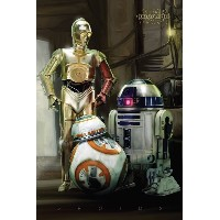 Star Wars: Episode 7 Poster - R2 D2, C3 PO, BB-8 (61cm x 91,5cm)