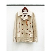 SUGAR CANE x MISTER FREEDOM LINEN/COTTON 80/20 HBT WATER FRONT-10TH ANNIVERSARY RE-ISSUE COLLECTION...