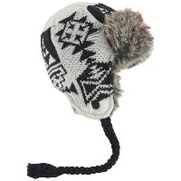 BURTON バートン Women's Burn It Down Trapper ( Stout White ) Hats & Beanies