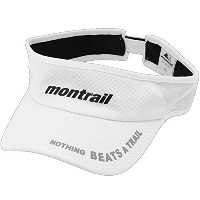 montrail モントレイル サンバイザー montrail NOTHING BEATS A TRAIL RUNNING VISOR