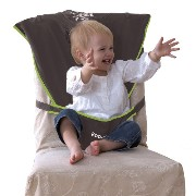 Koo-DI Seat Me Safe Travel Seat (Grey/ Green)