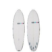 "サーフボード 2014 モデル LSD SURFBOARDS XF RANEGADE 6'0"" + FCS2 GLASS FLEX 5FIN SET"