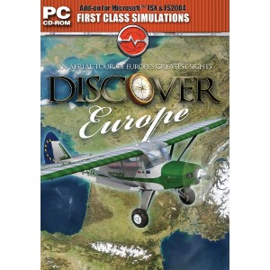 Discover Europe Add-on for Microsoft Flight Simulator FS 2004 and FSX (輸入版)
