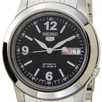 セイコー SEIKO 5 SNKE63J1 black × Silver Automatic Mens Watch made in Japan 男性 メンズ 腕時計 【並行輸入品】