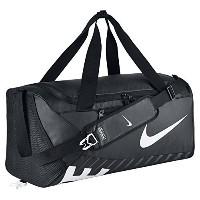 Nike ナイキ Alpha Adapt Cross クロス Body Medium Duffel Bag Black ブラック/White [並行輸入品]