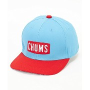 CHUMS(チャムス) Red Badge Baseball Cap 2015SS CH05-0741 Sky Blue x Orange Free