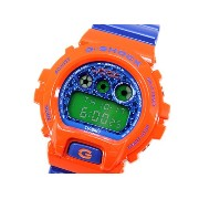 【並行輸入品】Casio G-Shock DW6900SC-4CR Crazy Color Orange Blue Watch