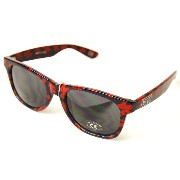 (バンズ)VANS サングラス Spicoli 4 Shades Pop floral sunglasses Red×Navy(レッド×ネイビー)