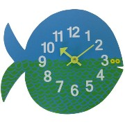 George Nelson ジョージ・ネルソン 壁掛け時計 Zoo Timer Clock フィッシュ GN091102 943619