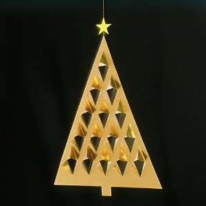 Flensted Mobiles フレンステッド・モビール (Prism Tree/Gold/103D)