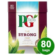 PG Tips The Strong One (PGティップス ストロングティー 80袋)- 80 Bags / 232g【海外直送品】【並行輸入品】