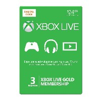 Xbox 360 3 Month Live Gold Card (Xbox 360) 北米版