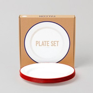 FALCON PLATE SET ファルコン プレートセット [ レッド / 4枚セット]