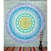 Indian Wall Queen Mandala Tapestry Throw Tapestries Hippie Wall Hanging Bed Cover Art