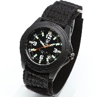 [Smith & Wesson]スミス&ウェッソン ミリタリー腕時計 SOLDIER WATCH NYLON STRAP BLACK SWW-12T-N [正規品]