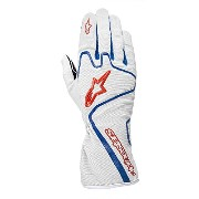 alpinestars(アルパインスターズ) TECH1K RACE GLOVES SILVER/BLUE/RED M 3552012-196-M